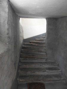 escalier pierre